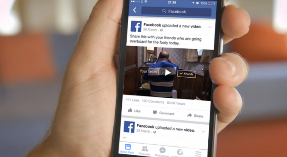 "Facebook pone a prueba botón ""Watch Later"" en sus videos"