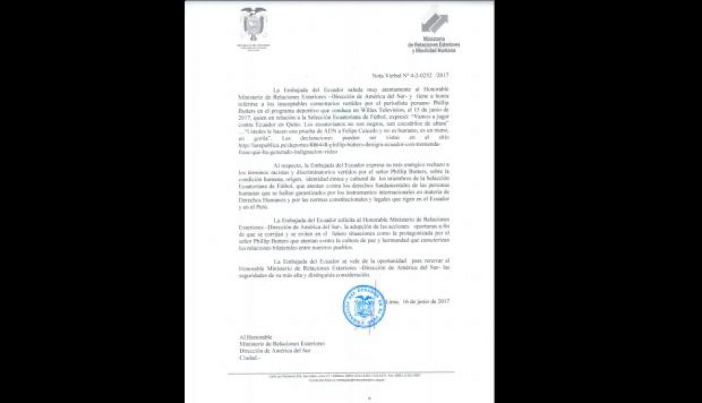Documento Ecuador