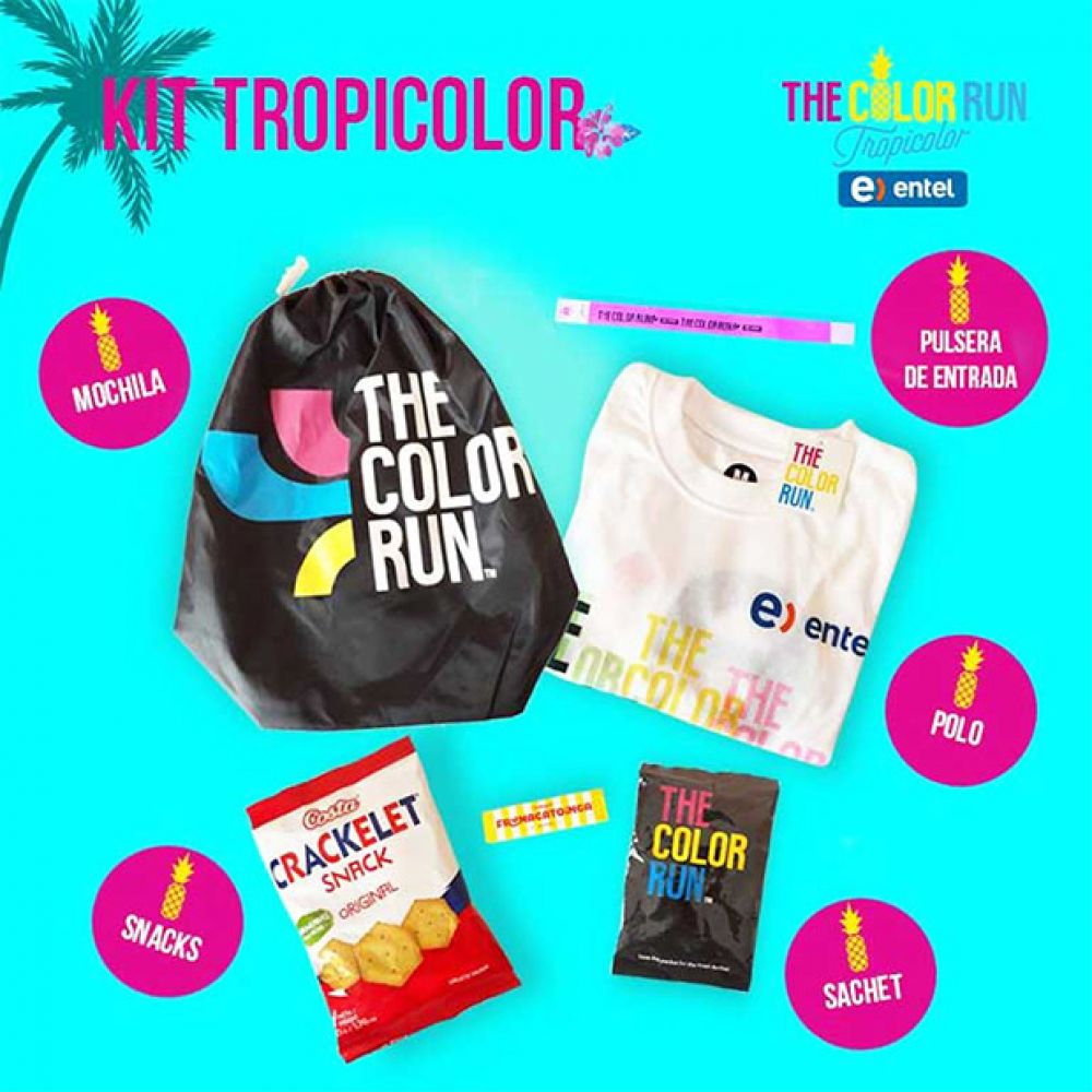 The Color Run - kit de carrera