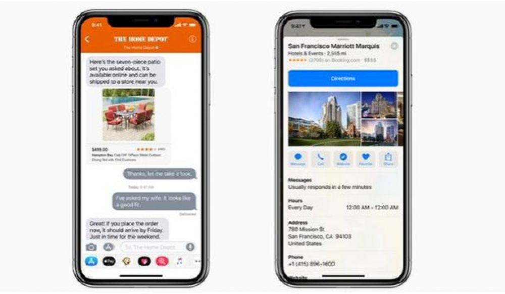 Chat disponible para Estados Unidos y Canadá. (Foto: Apple)