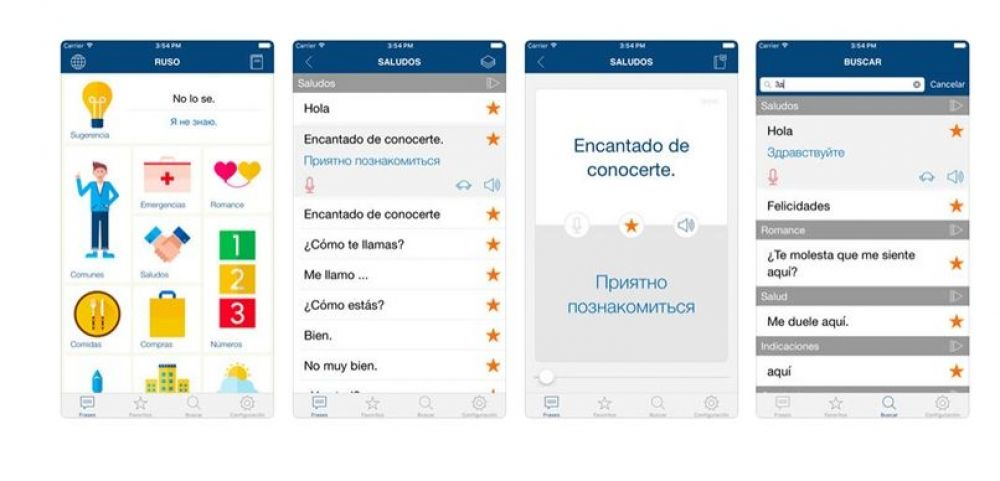 Frases simples. (Foto: App Store)
