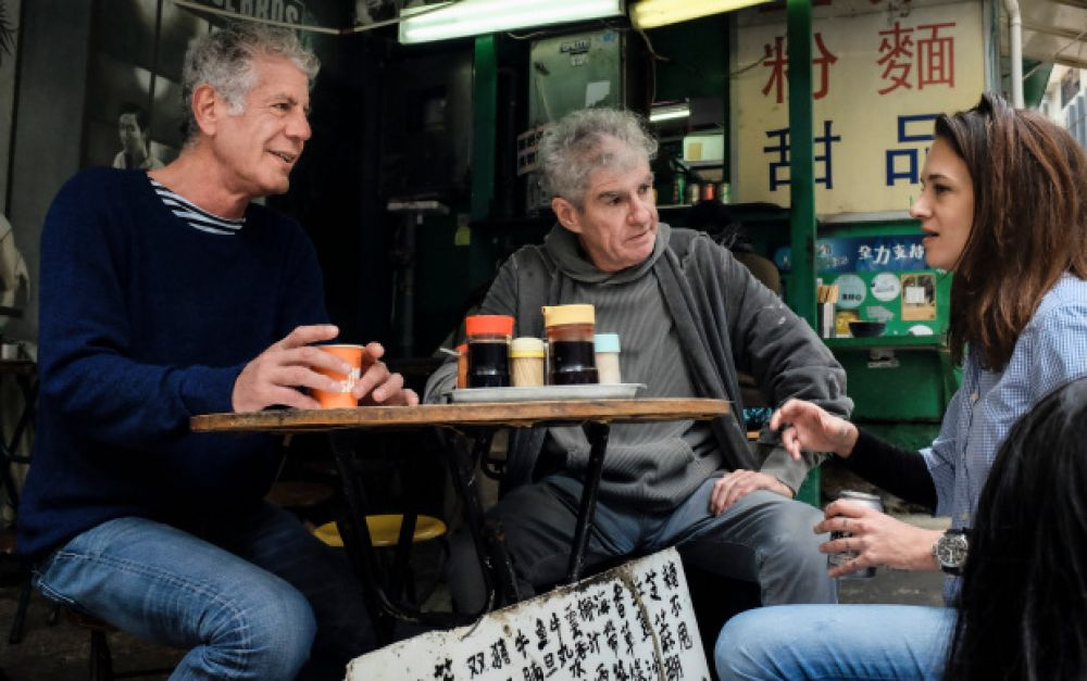 Anthony Bourdain en Hong Kong
