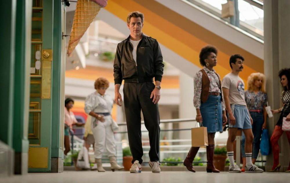 "Chris Pine en ""Wonder Woman 1984"". (Foto: Difusión)"