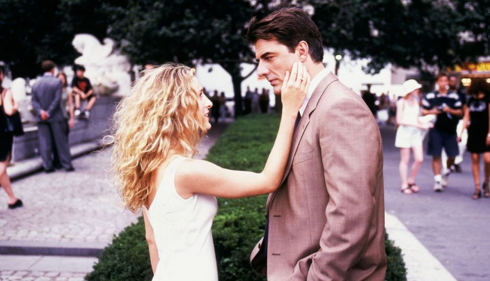 """Sex and the City"" -  Carrie y Mr. Big"