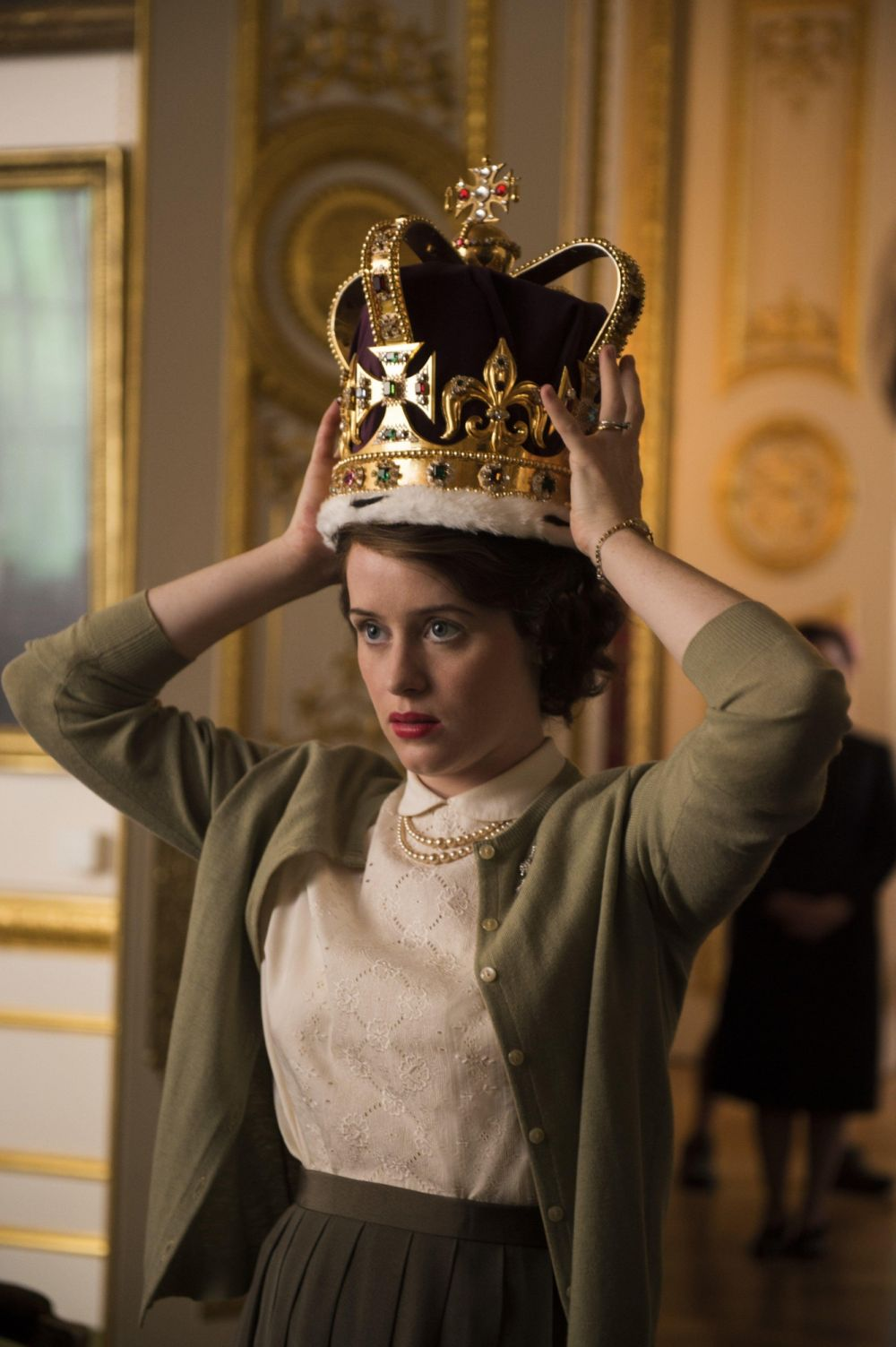 "Claire Foy en ""The Crown"". (Foto: Difusión)"