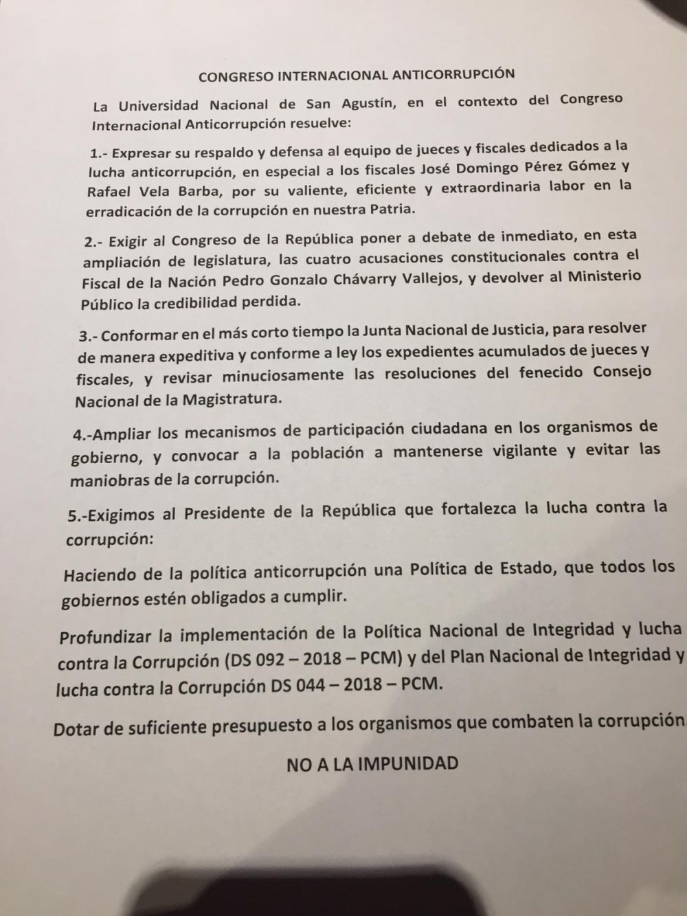 Congreso Internacional Anticorrupción
