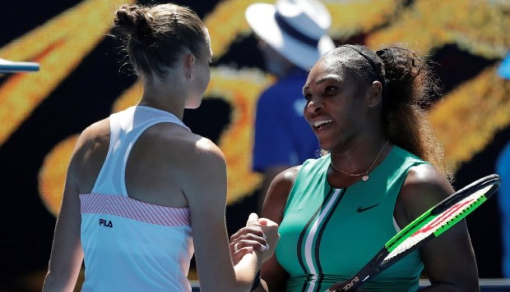 Pliskova, Serena Williams
