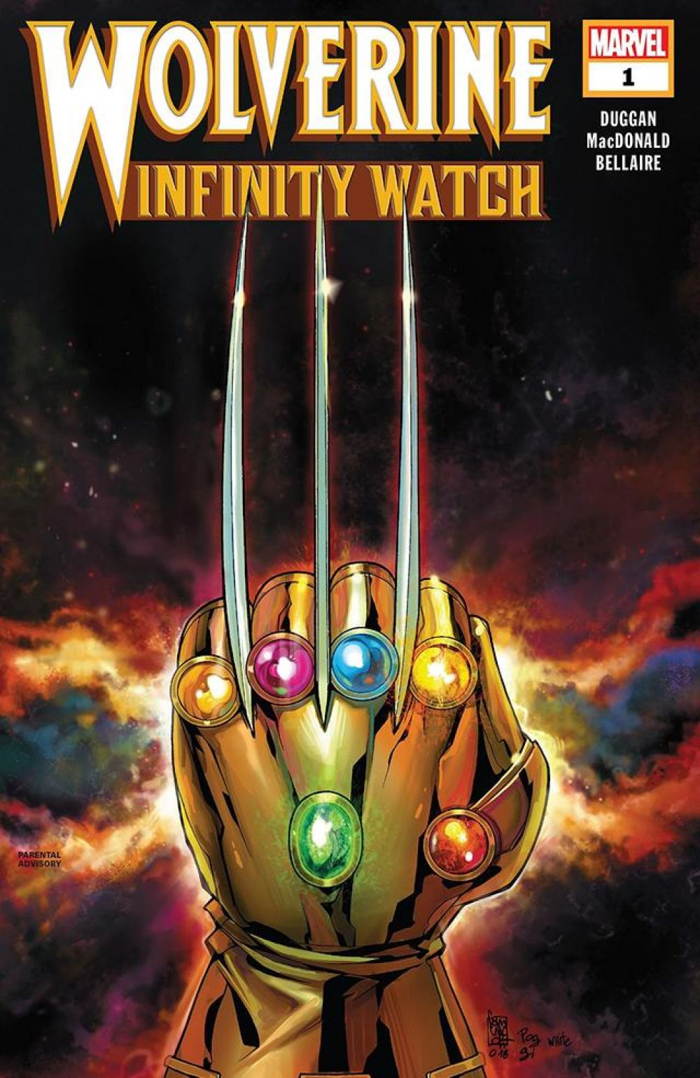 Wolverine: The Infinity Watch #1