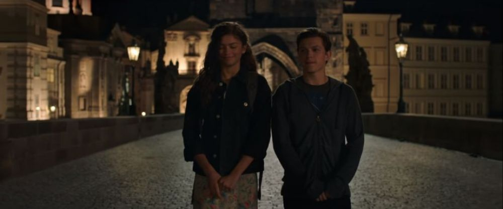 Spider-Man: Far From Home: Peter Parker y Michelle