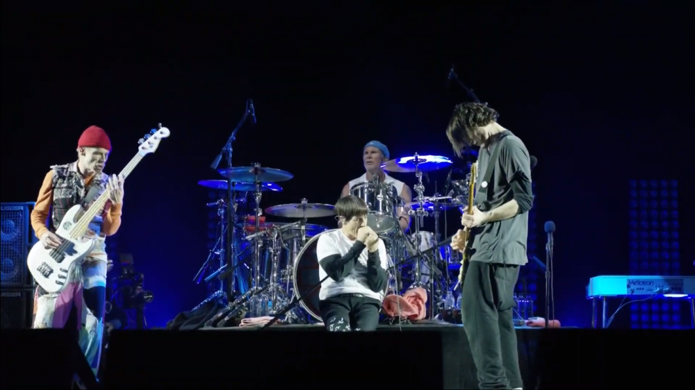Red Hot Chili Peppers EN VIVO
