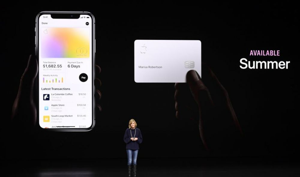 Apple Card. (Foto: Bloomberg)