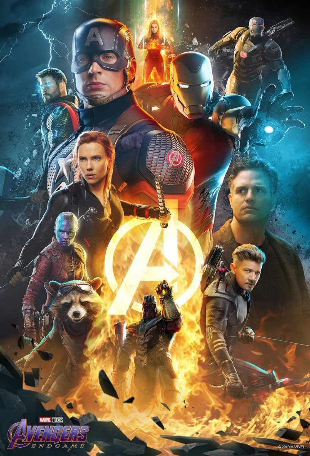 "Póster Atom Tickets ""Avengers:Endgame"" (Foto: Atom Tickets)"