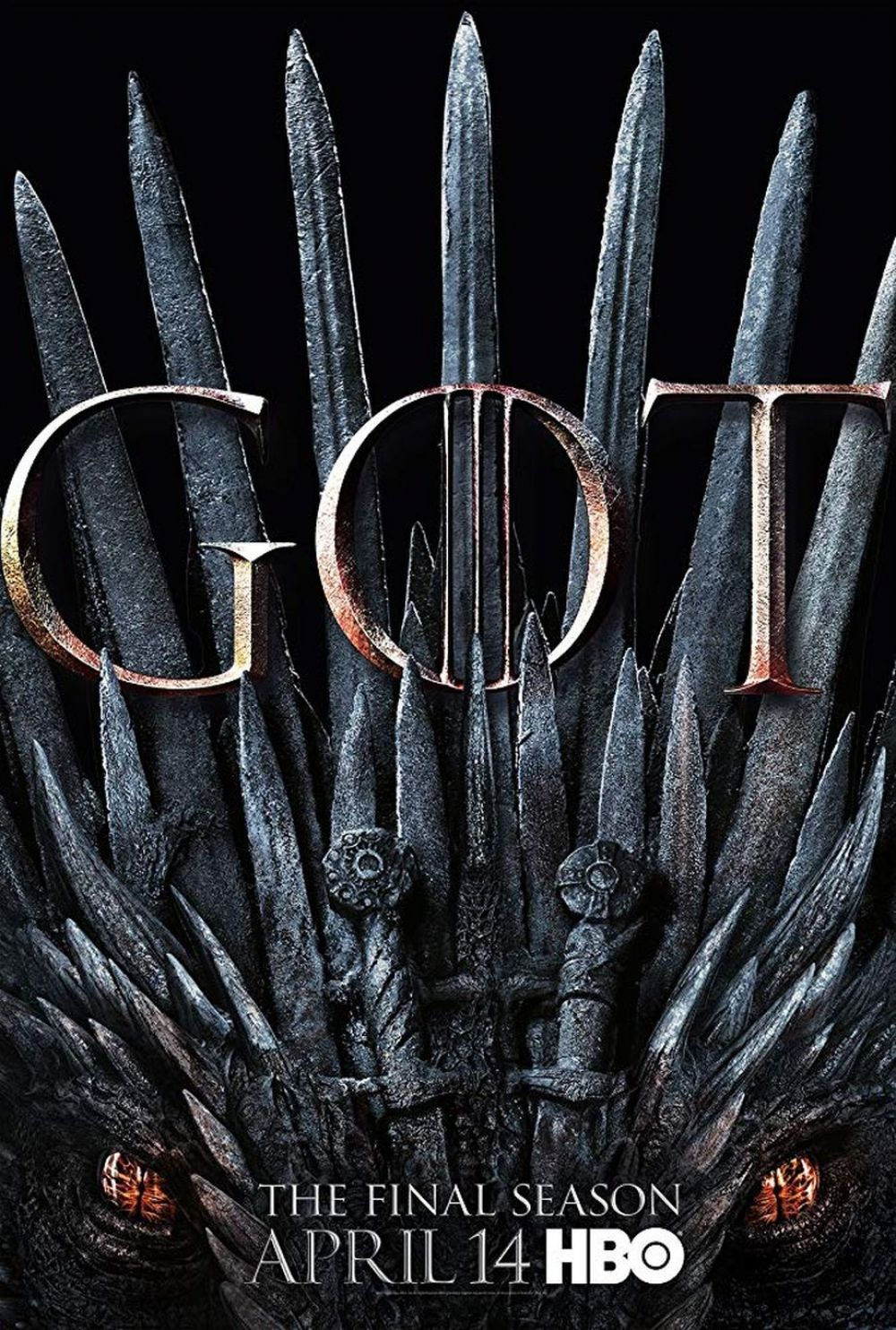Póster de Game of Thrones 8