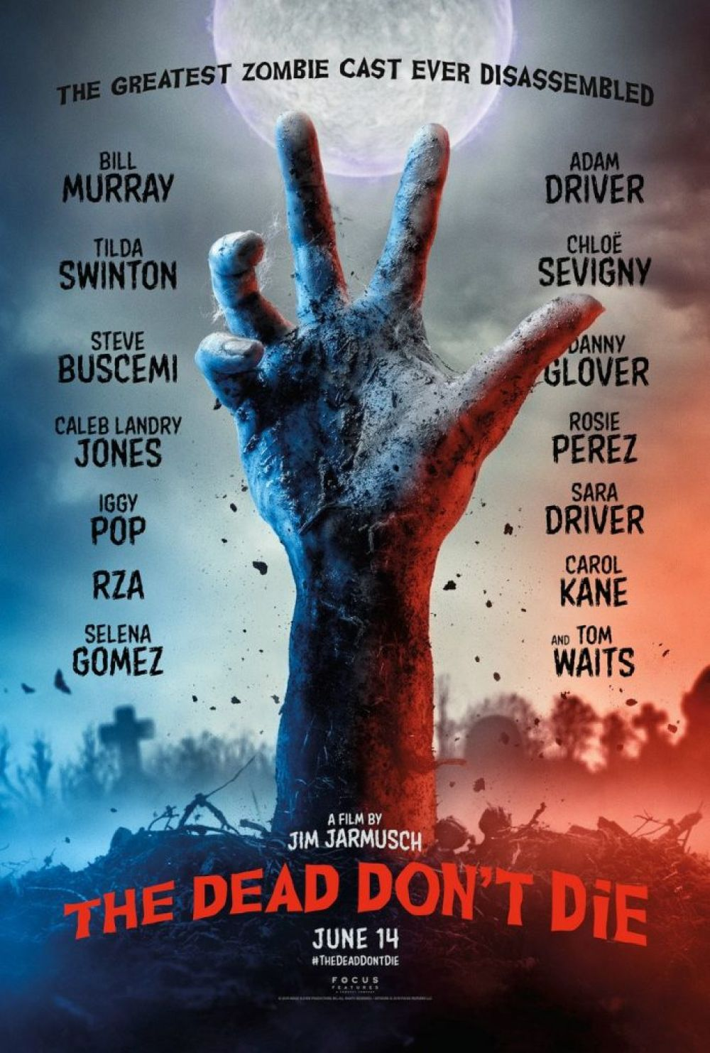 Afiche de la película The dead don't die