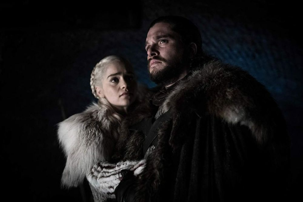 Game of Thrones 8x02: Jon Snow y Daenerys Targaryen