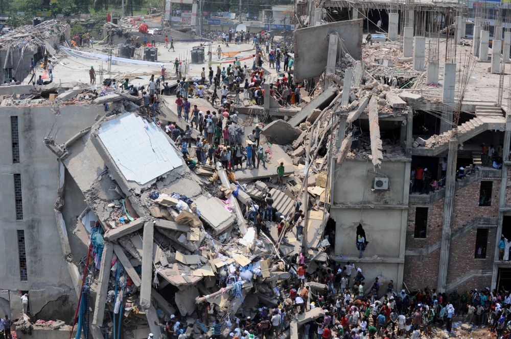 Fashion Revolution/ Rana Plaza