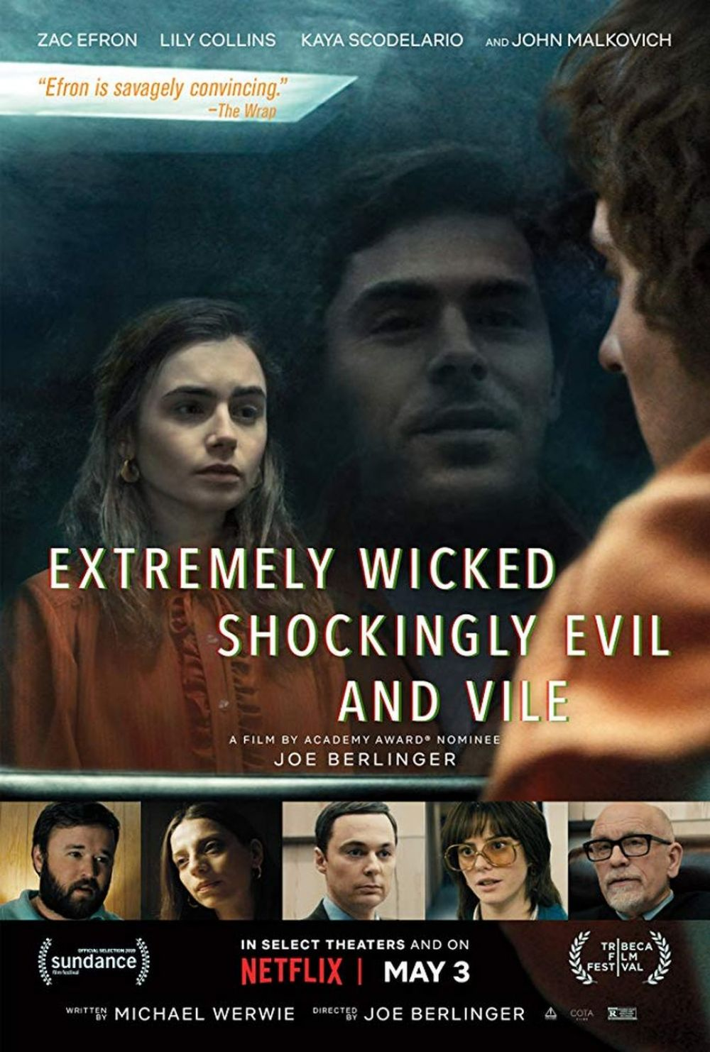 Extremely Wicked, Shockingly Evil and Vile | Póster