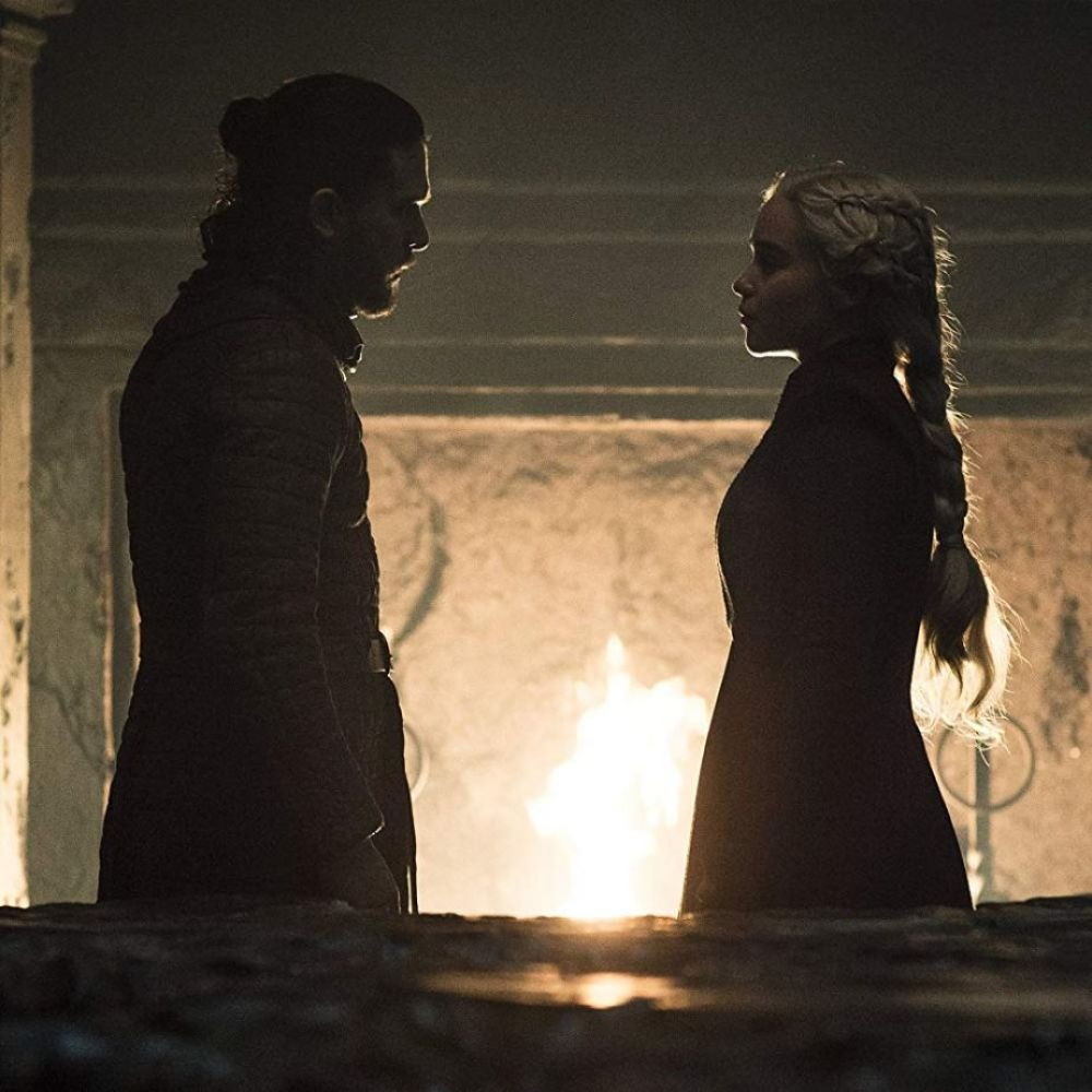 Game of Thrones 8x05 | Jon Snow y Daenerys Targaryen