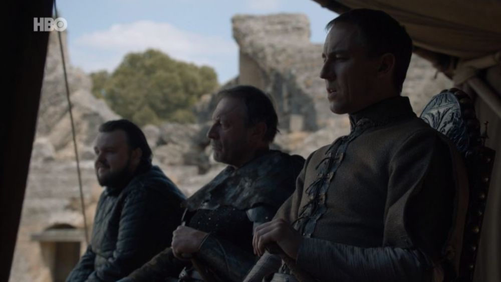 Game of Thrones 8x06 | Sam y Edmure Tully
