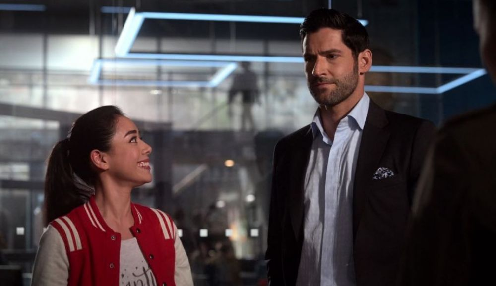 Lucifer 4x05 | Ella y Lucifer