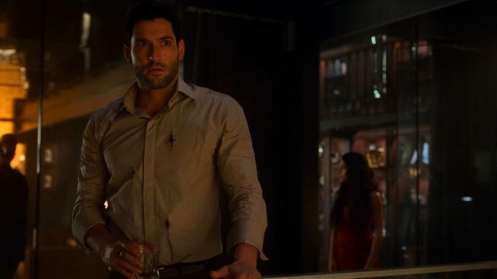 Lucifer 4x07 | Tom Ellis