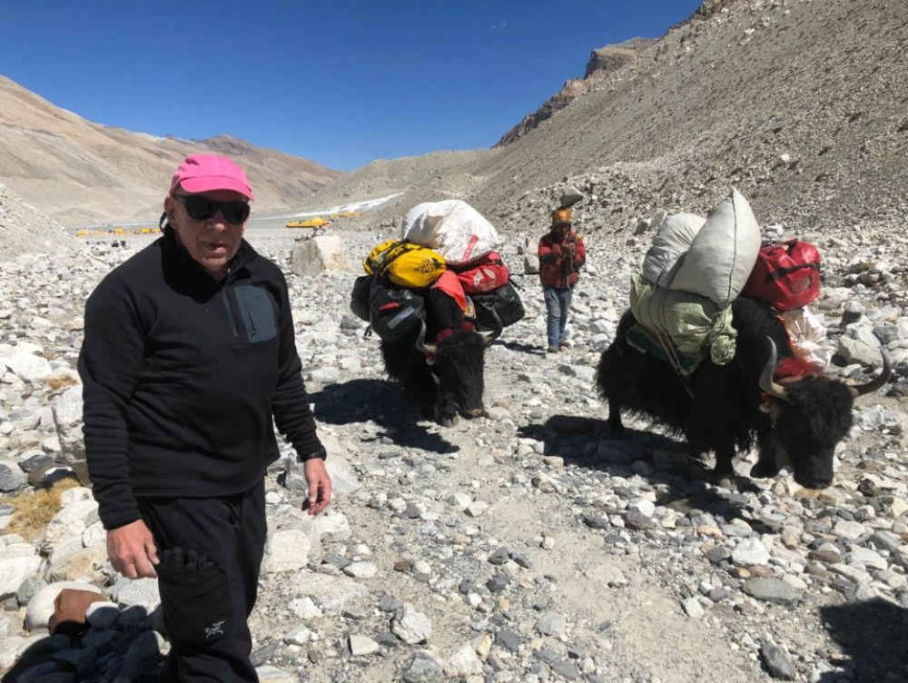 Facebook viral: Ron Crystal, el doctor que se autodiagnosticó un problema pulmonar mortal en plena escalada al Everest | FB | Face | Nepal