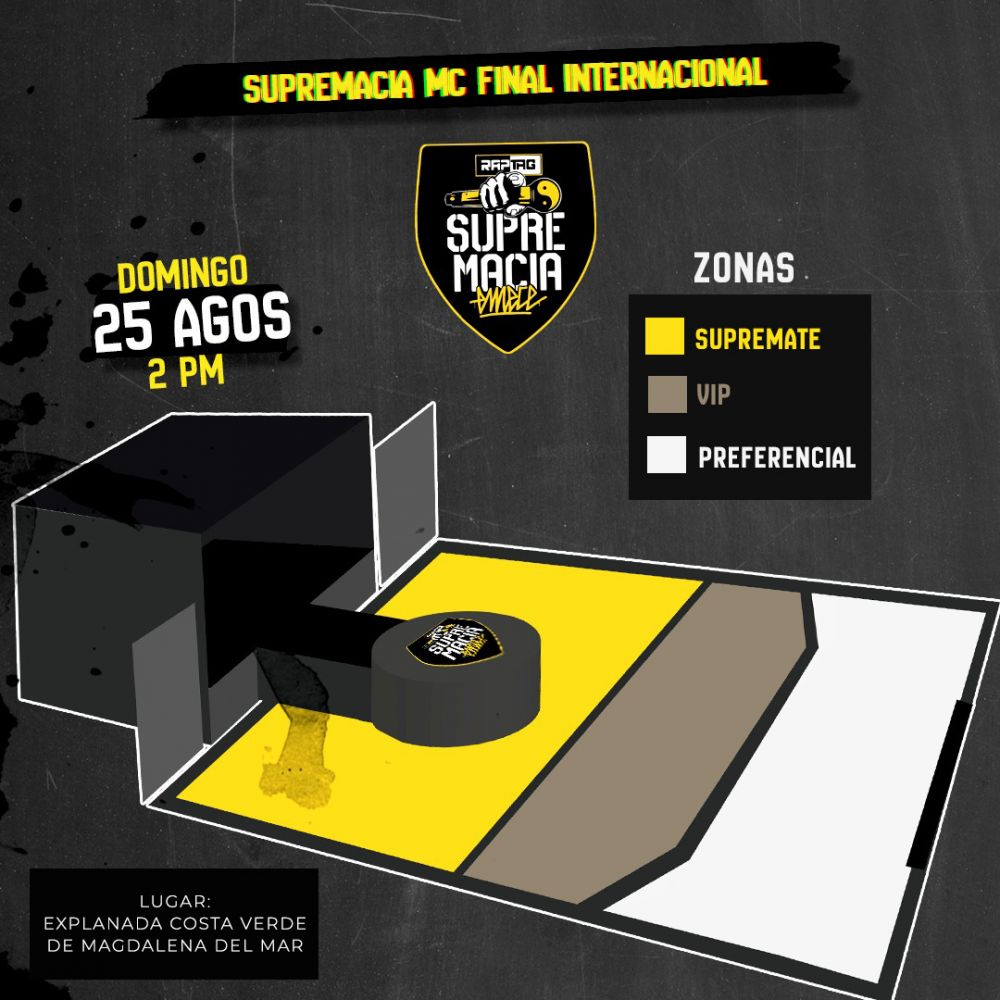Supremacía MC: domingo 25 de agosto en la Costa Verde. (Foto: Supremacía MC)
