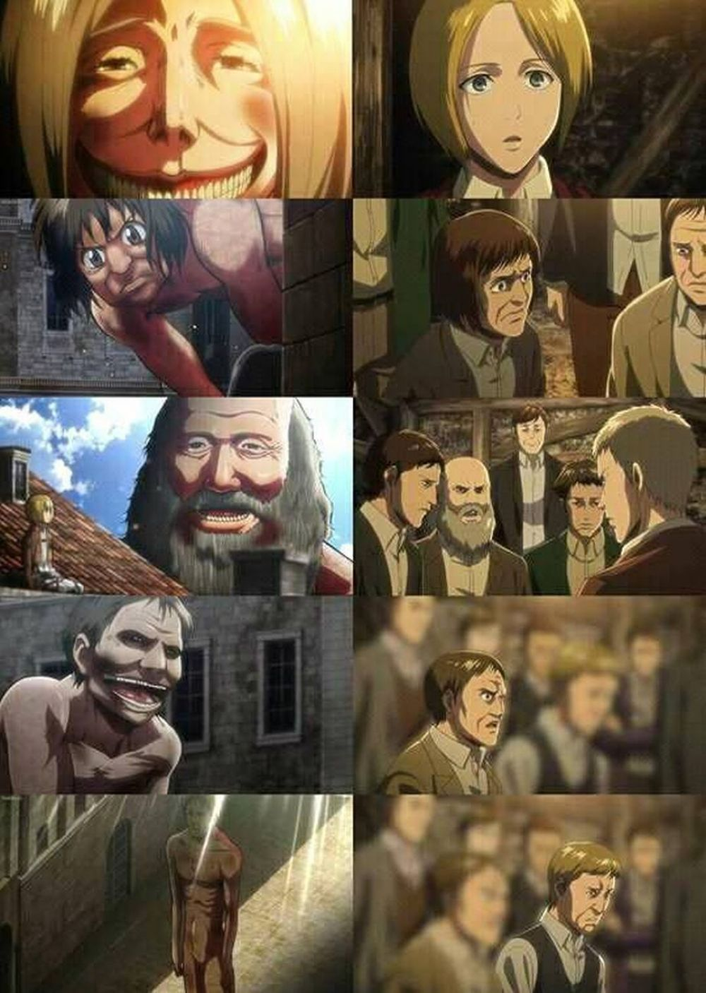 Attack on Titan | Restauradores de Eldia | Titanes