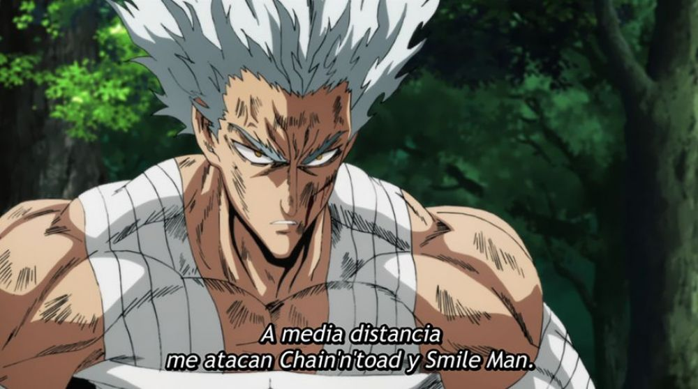 One Punch Man 2x10 | Garou