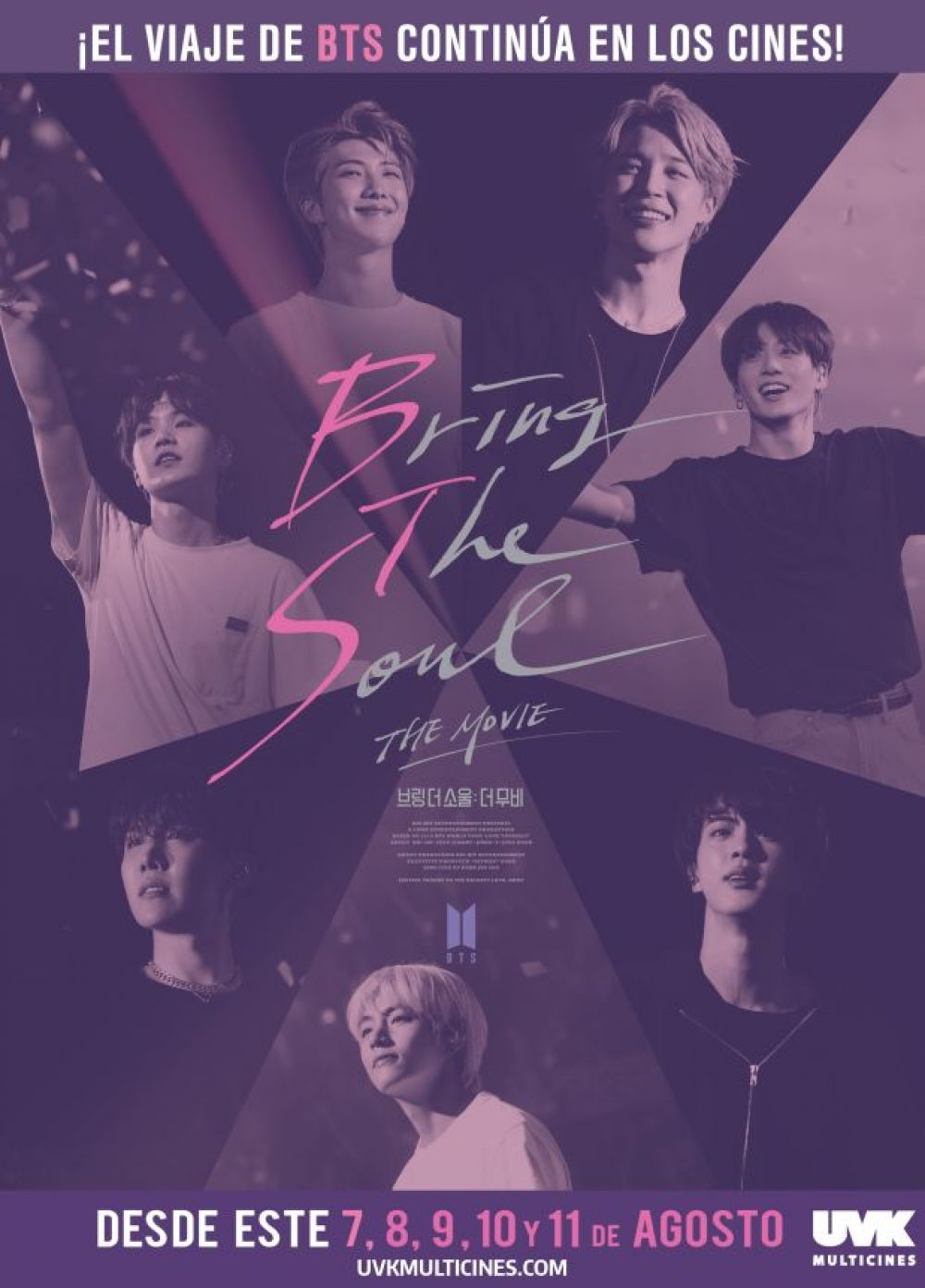 "Afiche de ""Bring The Soul: The Movie""."
