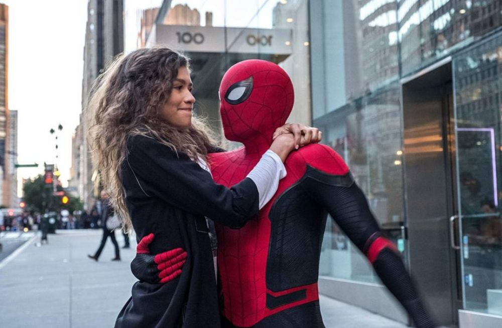 Spider-Man Far From Home | Peter Parker y MJ