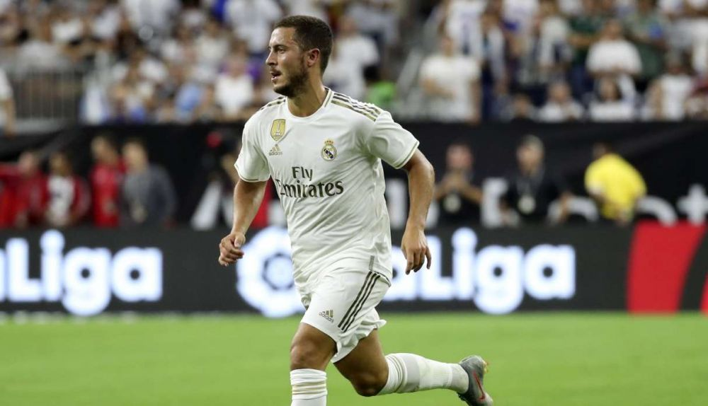Eden Hazard se pierde el debut del Real Madrid por lesión