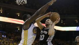San Antonio Spurs vs. Golden State Warriors