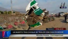 Accidente en Trujillo