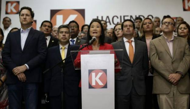 "Keiko señala que su defensa legal tomará medidas ""para impedir atropellos"""