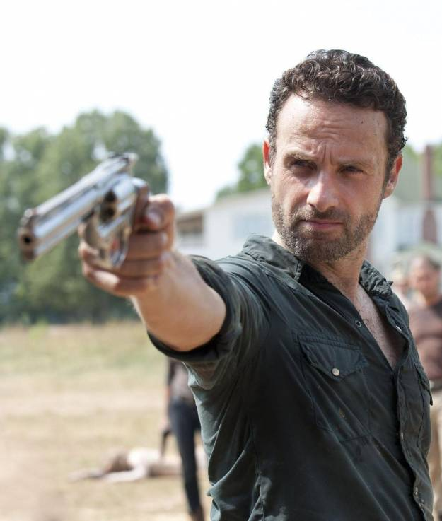 "Rick de ""The Walking Dead""."