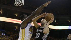 San Antonio Spurs vs. Golden State Warriors: cuarto juego de la final del Oeste