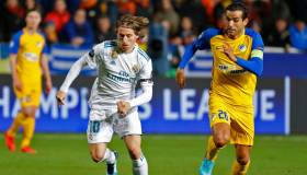 Real Madrid vs. APOEL EN VIVO: 6-0 en Chipre