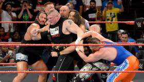 WWE Raw: este lunes desde California y con Brock Lesnar en el ring