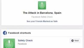 Facebook activa Safety Check con motivo del reciente atentado de Barcelona