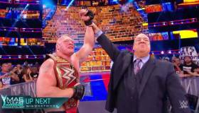 WWE SummerSlam 2017: Brock Lesnar se impuso ante Reigns, Joe y Strowman en espectacular lucha [VIDEO]