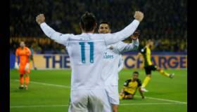 Real Madrid venció 3-1 a Dortmund por Champions League
