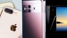 Huawei Mate 10: comparación con el iPhone 8 Plus y Galaxy Note 8