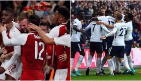 Arsenal vs. Tottenham: se miden por la Premier League