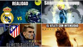 Real Madrid vs. Atlético de Madrid: los memes del derbi