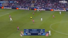 Real Madrid vs. Atlético Madrid EN VIVO: mira el gol de Benzema para el 1-1 | VIDEO
