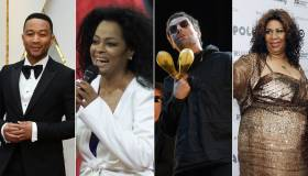 John Legend, Diana Ross, Liam Gallagher y Aretha Franklin
