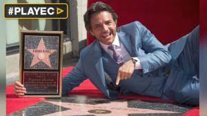 Eugenio Derbez dedicó su estrella en Hollywood a los latinos