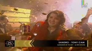 Yo soy: doble de Sandro, Tony Cam, ganó gran revancha [VIDEO]