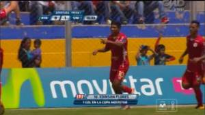 Edison Flores: golazo para Universitario en Ayacucho [VIDEO]